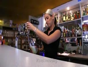 Super sizzling bartender pounded for cash - http tinyurl.com fuckoncams