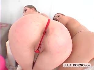 3 splendid femmes boinked in the arse by a immense spunk-pump wk-7-04