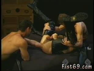 Hardcore fag pornography lovemaking handballing gigantic lengthy manstick and free homosexual masculine going knuckle deep porno