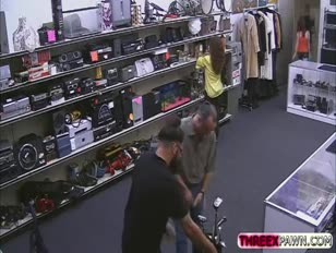 Absolutely wonderful sizzling female gets nailed by a pervy store owner