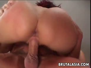 Japanese slut katsuni takes a ample chisel in her anus
